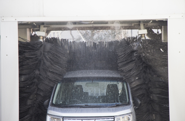 5.撥水洗車&室内清掃